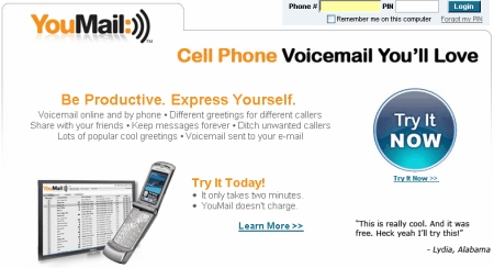 The mobile technology weblog customize your voicemail with youmail customize your voicemail with youmail m4hsunfo